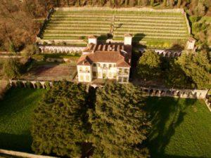 Villa Dosi Delfini dall'alto