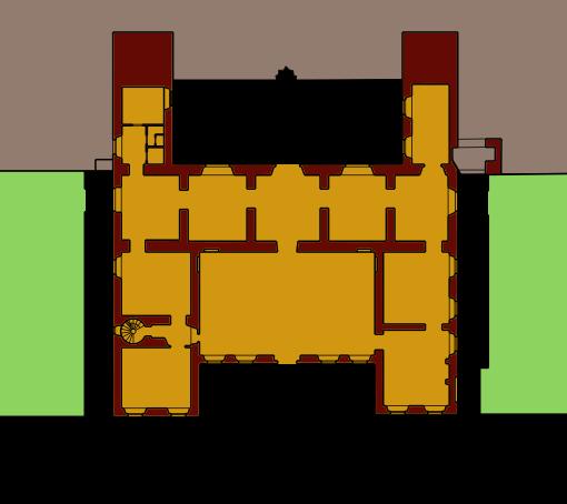 Mappa della villa